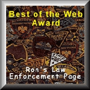 Rons Law Enforcement Award