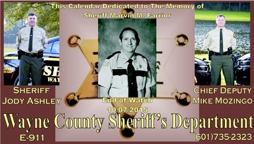 Wayne County Sheriff Department :: Waynesboro, MS